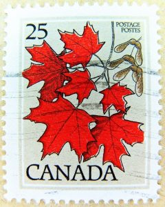 Maple Leaf standard stamps